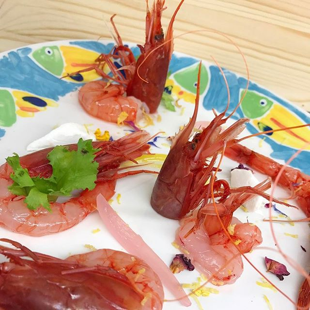 Il nostro gambero #maronti #food #summer #2017 #ristoranteida #gamberoni