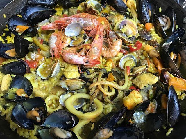La nostra Paella! #2017 #summer #spagna #paella #food #ristoranteida #ischia #maronti