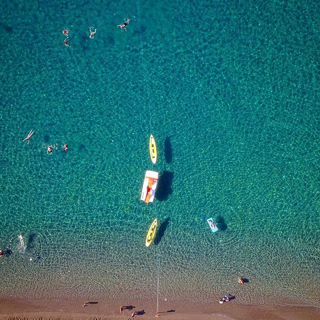 Un tuffo dove l'acqua è più blu! #ischia #maronti #ristoranteida #drone #dji #mavic #sun #sea #summer