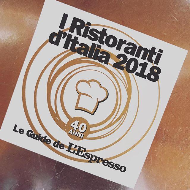 Presenti!! #espresso #ristorantiditalia #guidaespresso #2018 #top #food #ristoranteida #spiaggiadeimaronti #ischia