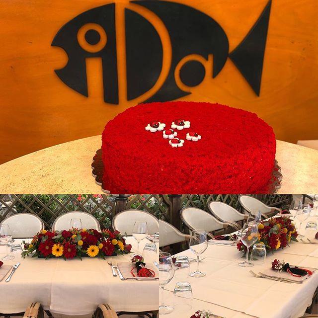 Festeggiare la tua laurea da noi #ristoranteida #celebrations #graduation #party #ischia #food #spiaggiadeimaronti #sea #sun #love #beach #foodgram #fish #italy